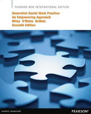 Cover of Generalist Social Work Practice: Pearson New International Edition