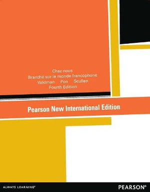 Cover of Chez Nous: Pearson New International Edition