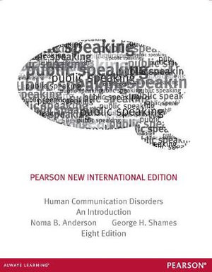 Cover of Human Communication Disorders: Pearson New International Edition