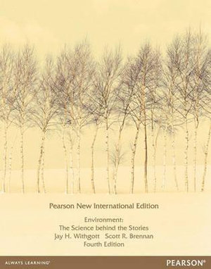 Cover of Environment: The Science behind the Stories Pearson New International   Edition