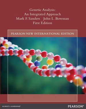 Cover of Genetic Analysis: Pearson New International Edition