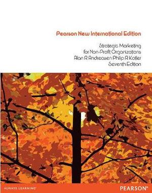 Cover of Strategic Marketing for Non-profit Organizations