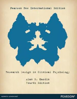Cover of Research Design in Clinical Psychology