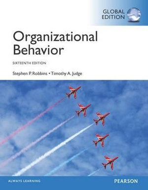 Cover of Organizational Behaviour, Global Edition