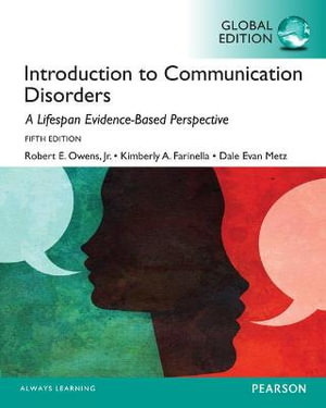 Cover of Introduction to Communication Disorders