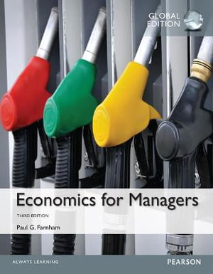 Cover of Economics for Managers, Global Edition