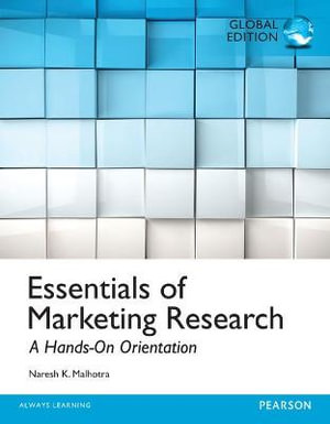 Cover of Essentials of Marketing Research