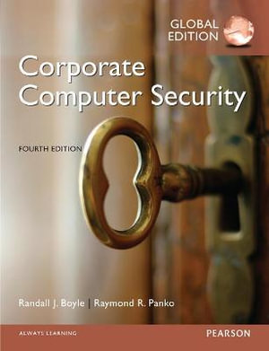 Cover of Corporate Computer Security, Global Edition