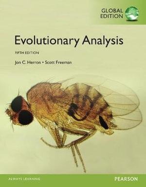 Cover of Evolutionary Analysis, Global Edition