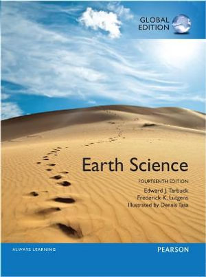 Cover of Earth Science, Global Edition