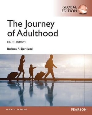 Cover of Journey of Adulthood, Global Edition