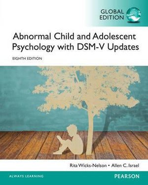 Cover of Abnormal Child and Adolescent Psychology with DSM-V Updates, Global Edition