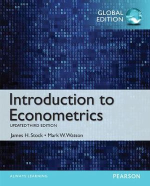 Cover of Introduction to Econometrics, Update, Global Edtion