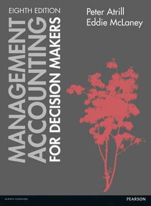 Cover of Management Accounting for Decision Makers