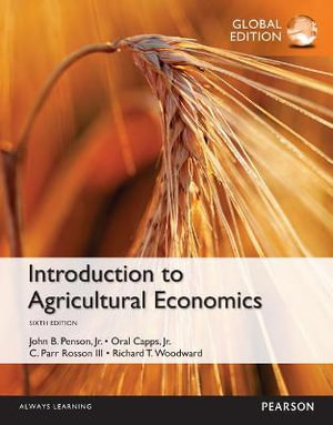 Cover of Introduction to Agricultural Economics, Global Edition