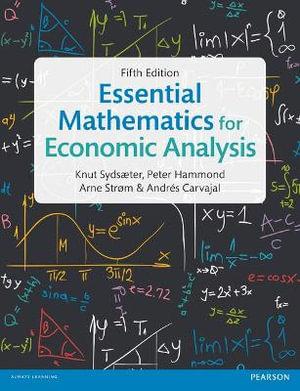Cover of Essential Mathematics for Economic Analysis
