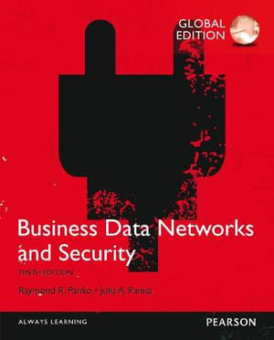 Cover of Business Data Networks and Security, Global Edition