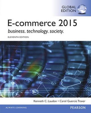 Cover of E-Commerce 2015, Global Edition