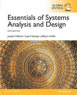 Cover of Essentials of Systems Analysis and Design, Global Edition