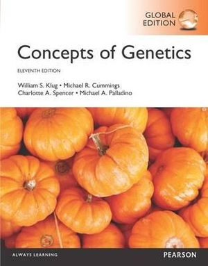 Cover of Concepts of Genetics, Global Edition