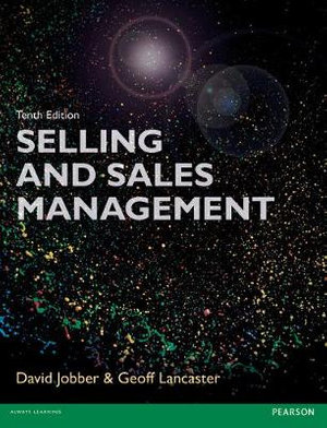 Cover of Selling and Sales Management