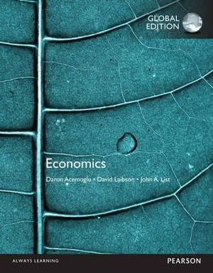 Cover of Economics, Global Edition