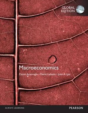 Cover of Macroeconomics, Global Edition