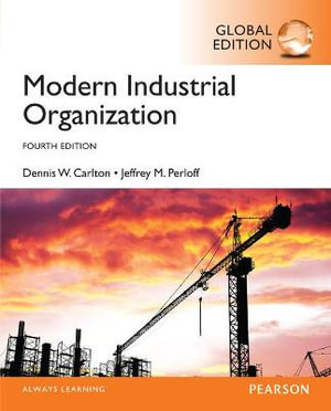 Cover of Modern Industrial Organization, Global Edition