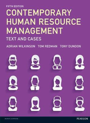 Cover of Contemporary Human Resource Management