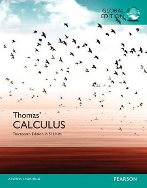Cover of Thomas' Calculus in Si Units