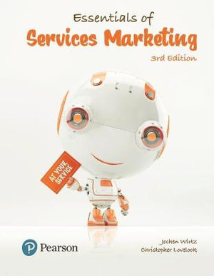 Cover of Essentials of Services Marketing Asian Perspective, Global Edition