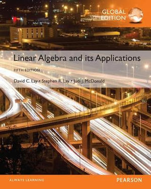 Cover of Linear Algebra and Its Applications, Global Edition