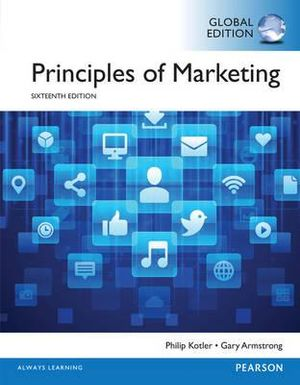 Cover of Principles of Marketing, Global Edition