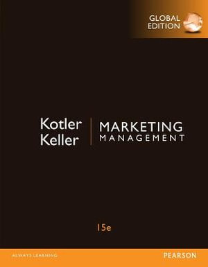 Cover of Marketing Management, Global Edition