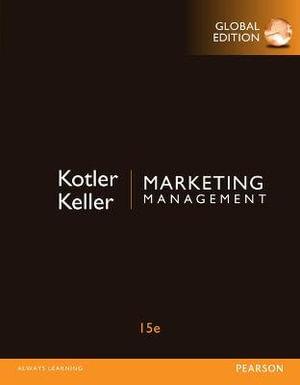 Cover of Marketing Management + MyMarketingLab