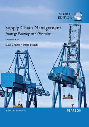 Cover of Supply Chain Management, Global Edition
