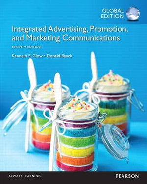 Cover of Integrated Advertising, Promotion, and Marketing Communications, Global Edition