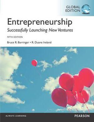 Cover of Entrepreneurship, Global Edition