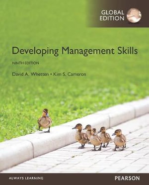 Cover of Developing Management Skills, Global Edition