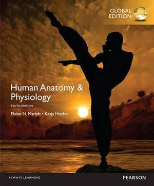 Cover of Human Anatomy and Physiology, (Hardback), Global Edition