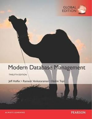 Cover of Modern Database Management, Global Edition