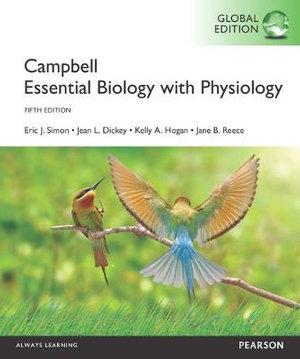 Cover of Campbell Essential Biology with Physiology, Global Edition