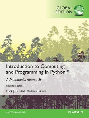 Cover of Introduction to Computing and Programming in Python, Global Edition