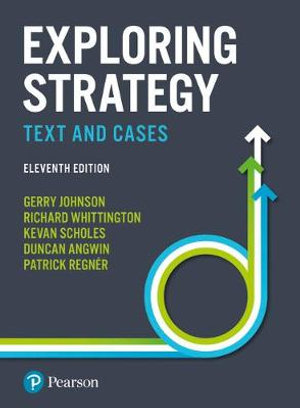 Cover of Exploring Strategy Text and Cases