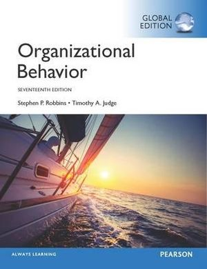 Cover of Organizational Behavior, Global Edition