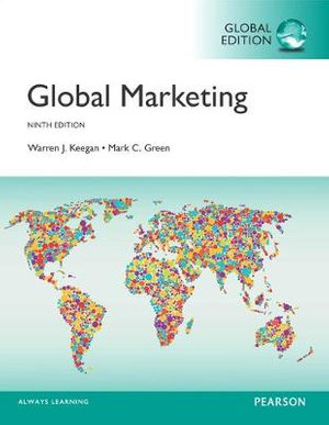 Cover of Global Marketing, Global Edition
