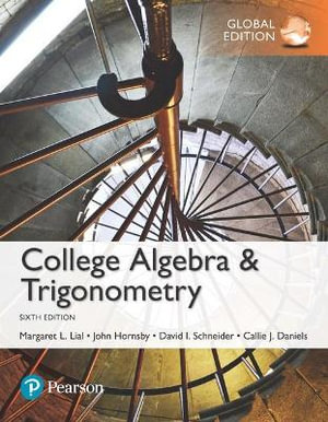 Cover of College Algebra and Trigonometry, Global Edition