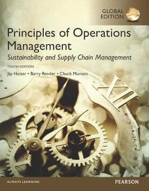 Cover of Principles of Operations Management