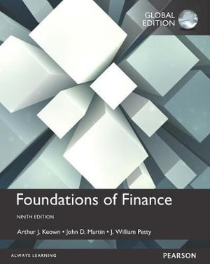 Cover of Foundations of Finance, Global Edition