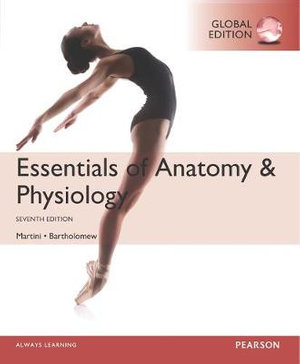 Cover of Essentials of Anatomy & Physiology, Global Edition